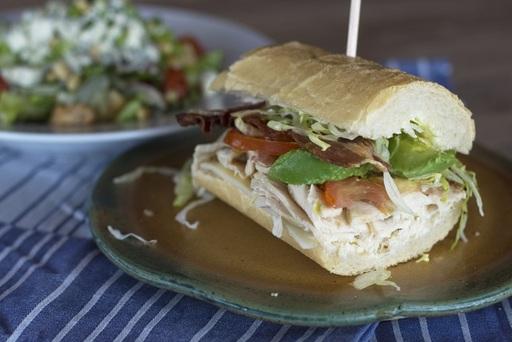 SPIN! Pizza's new Turkey Bacon Avocado sandwich is