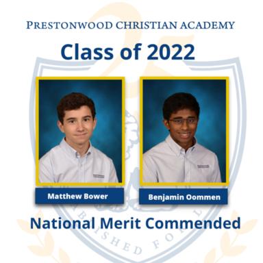 National Merit Commended