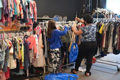 Joseph's Coat Clothing Closet