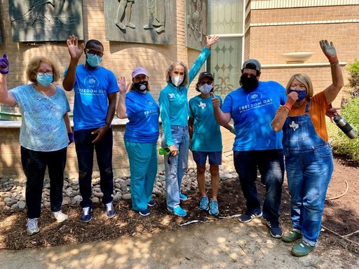Freedom Day at Juliette Fowler Communities